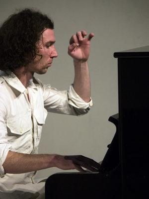 Nikolaus Reinke am Klavier