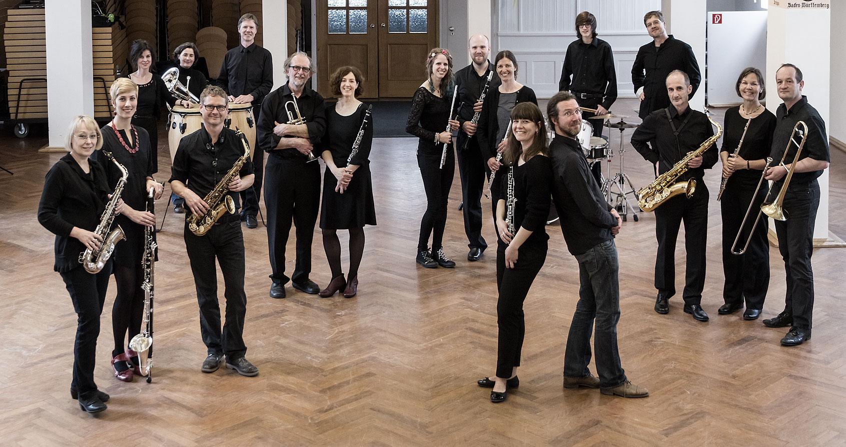 Gruppenfoto vom Orchester Musikverein Littenweiler