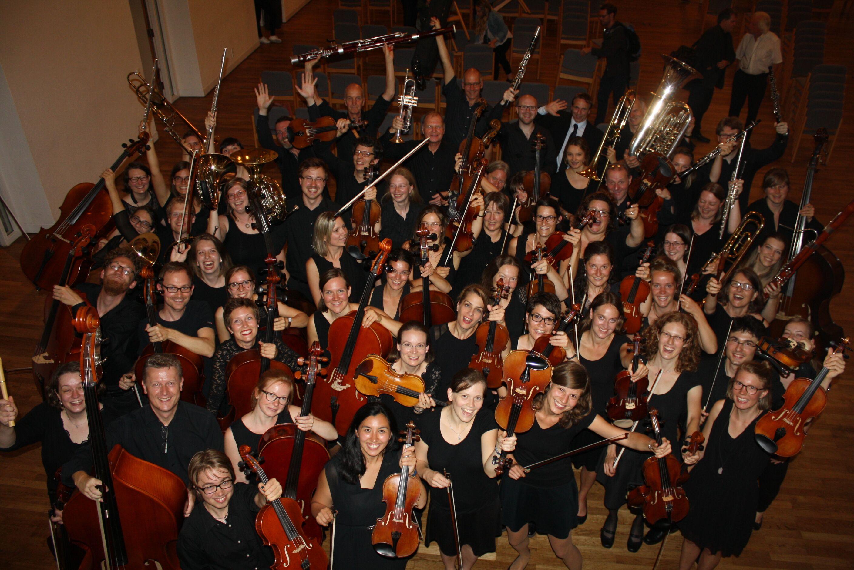 Gruppenfoto vom Orchester