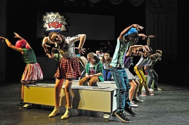 Choreographiebild vom Ensemble